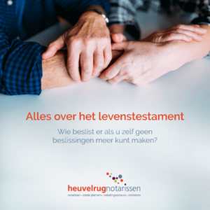 Brochure Levenstestament Heuvelrug Notarissen preview